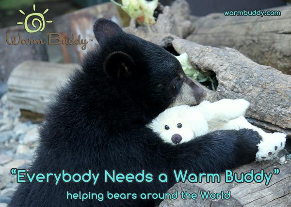 Sales of Warm Buddy Products go to help 8 Bear Organizations.